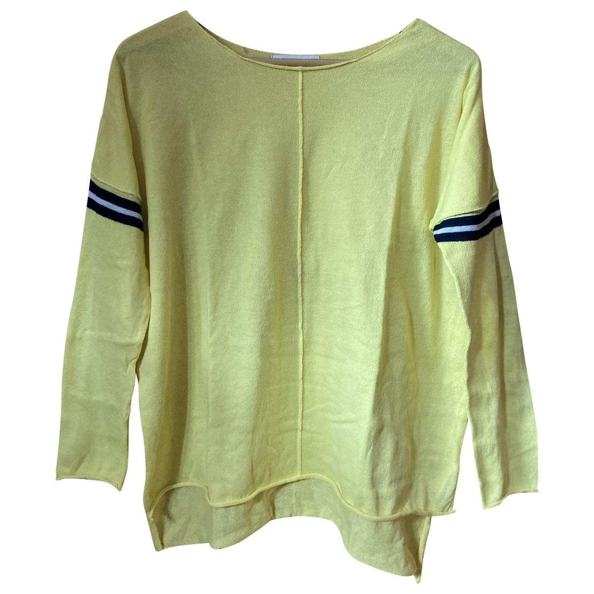 Zara N Yellow Cotton Knitwear for Women S International