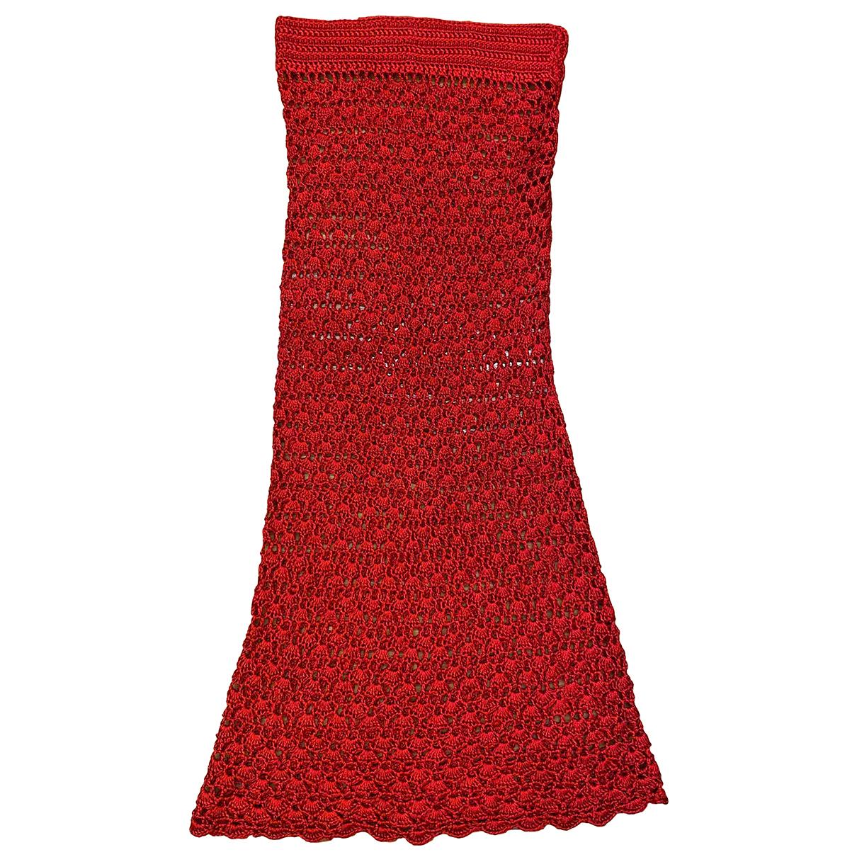 Dolce & Gabbana \N Rocke in  Rot Viskose