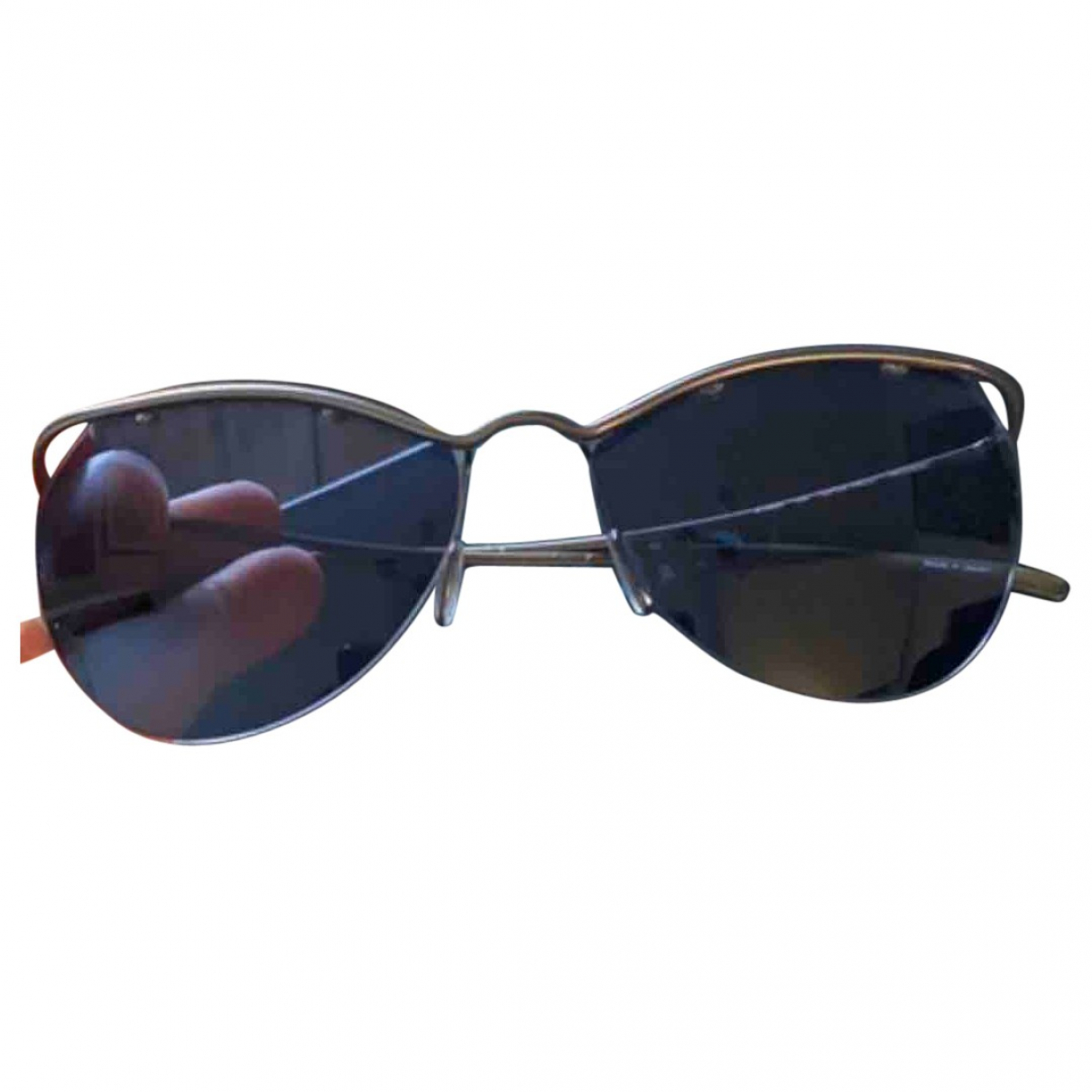 Lanvin N Blue Metal Sunglasses for Women N