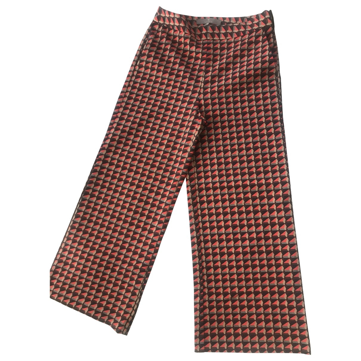 Non Signé / Unsigned \N Multicolour Trousers for Women 40 IT