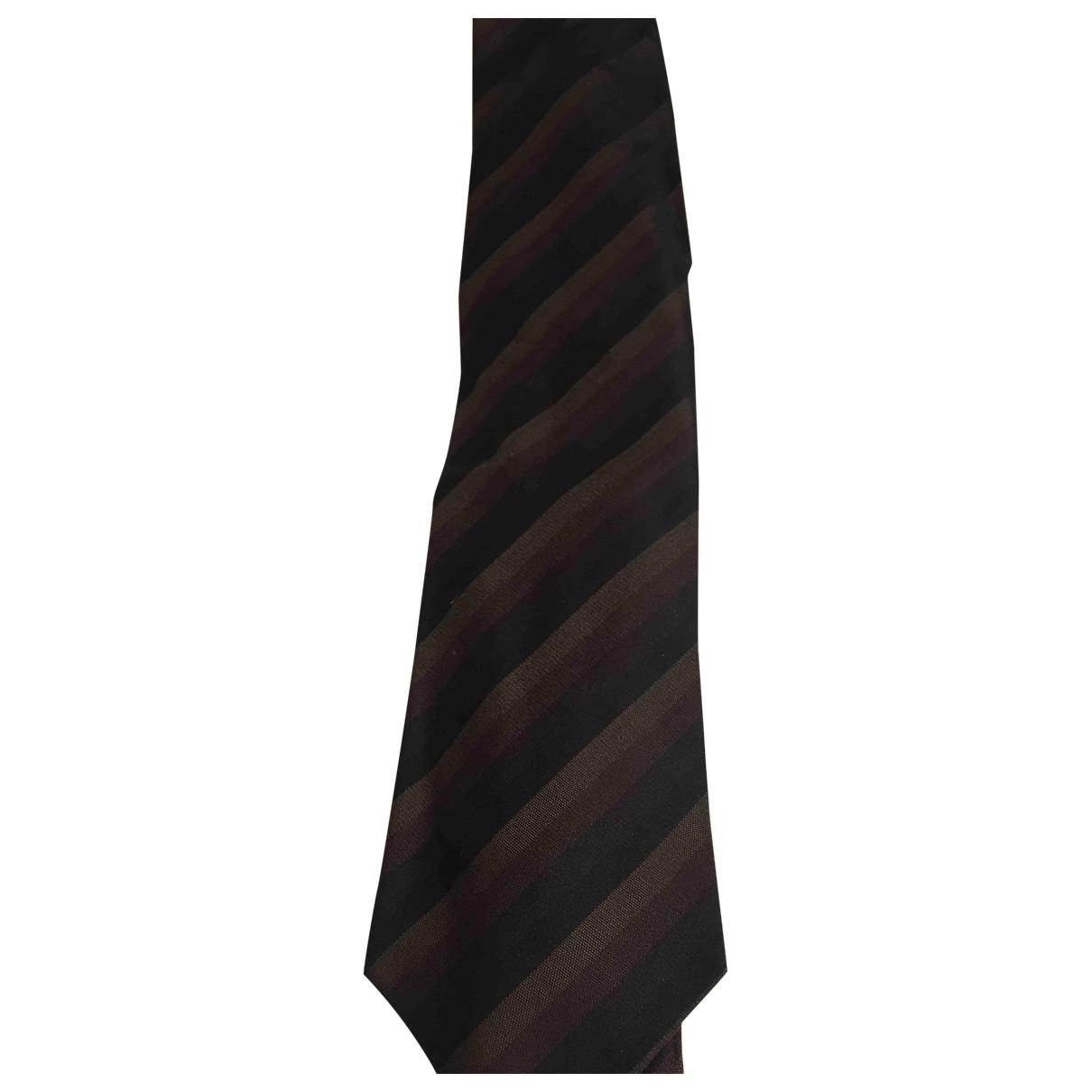 Prada - Cravates   pour homme en soie - multicolore