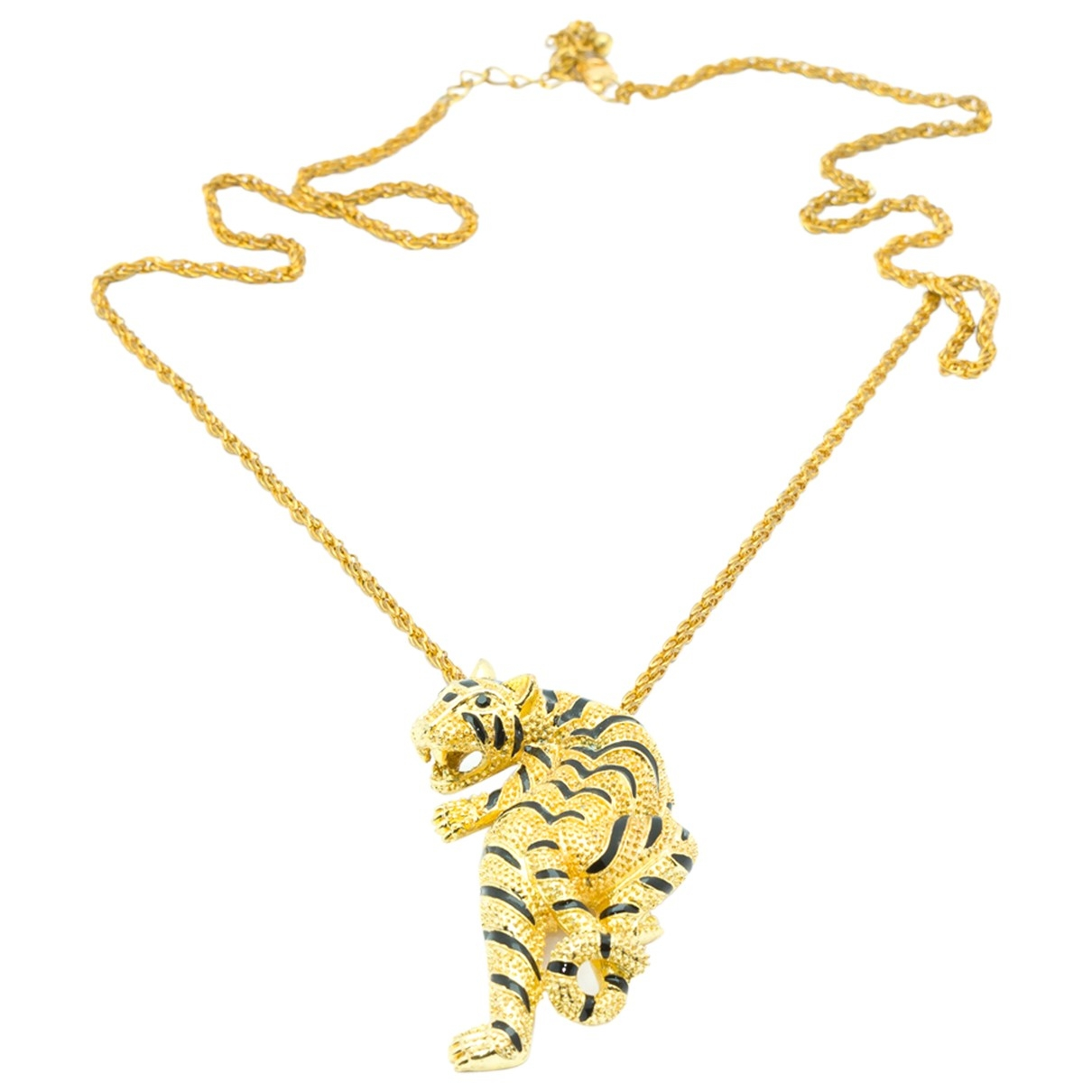 Non Signé / Unsigned Motifs Animaliers Gold Metal necklace for Women \N