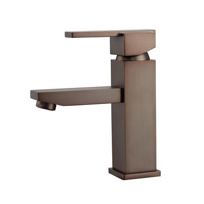 LFS310-ORB Fulton Single Handle Lavatory Faucet with Hoses  Oil Rubbed