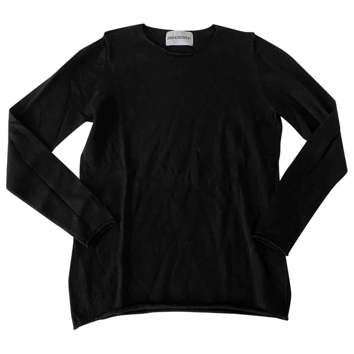 Zadig & Voltaire \N Pullover in  Schwarz Wolle
