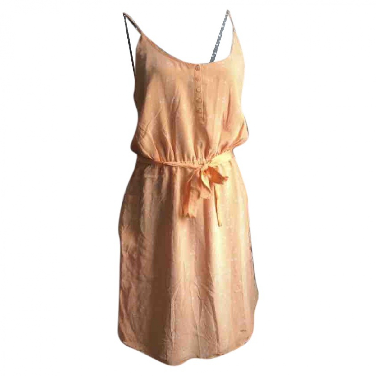 Sud Express \N Kleid in  Orange Baumwolle - Elasthan