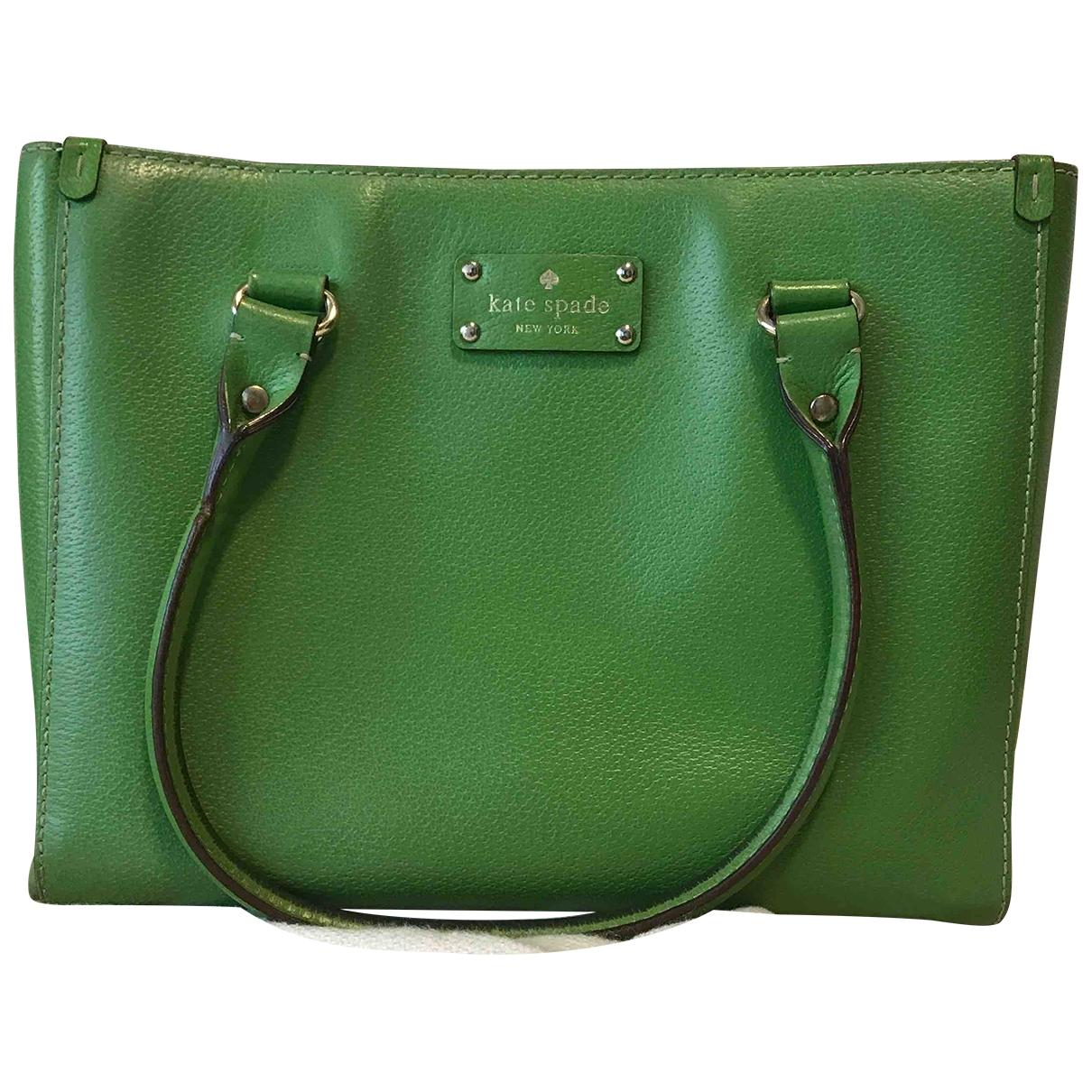Kate Spade \N Green Leather handbag for Women \N