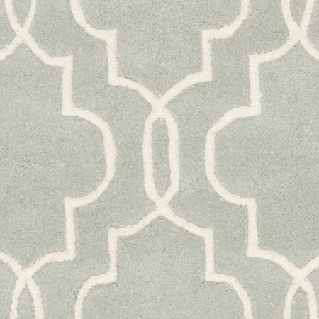 Safavieh Emmit Geometric Hand Tufted Wool Rug, One Size , Gray