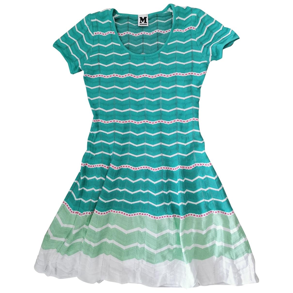 M Missoni \N Green Cotton dress for Women 38 IT