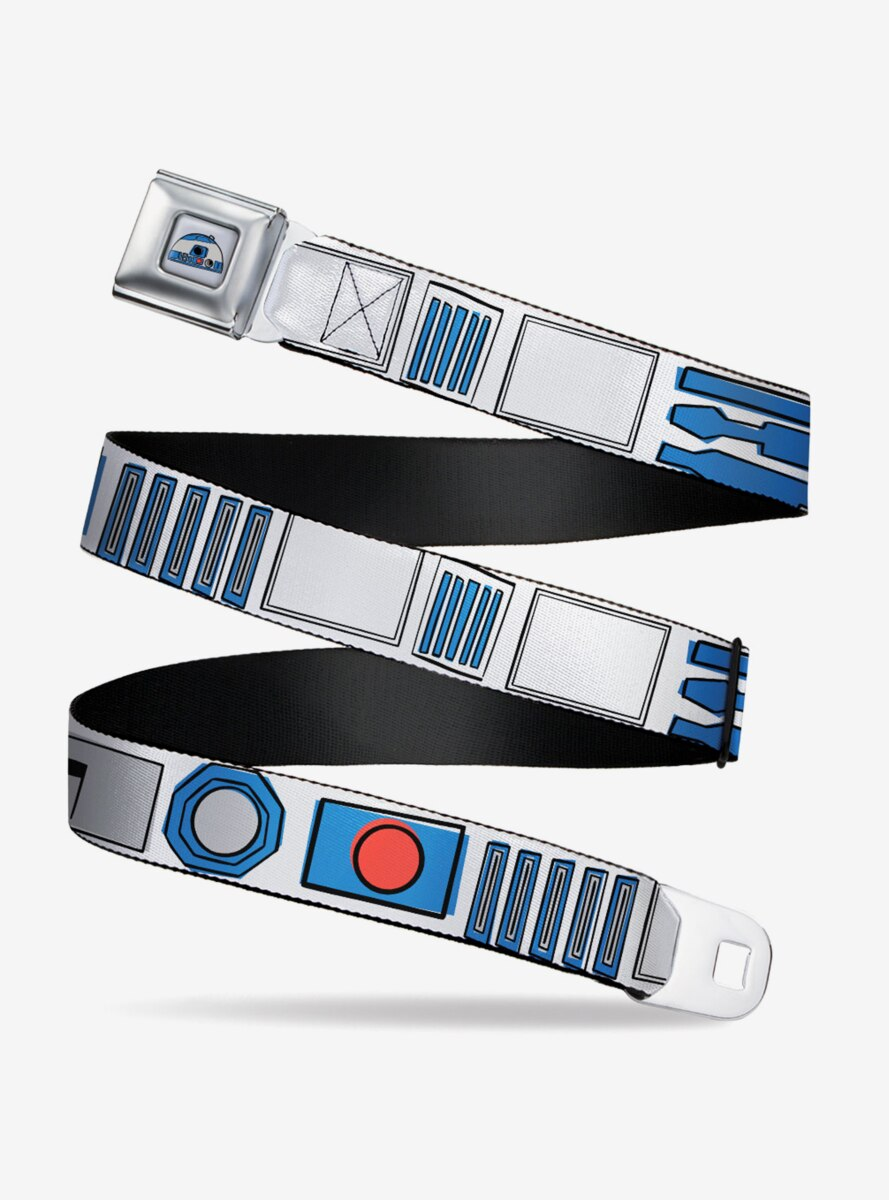 Star Wars R2D2 Bounding Parts Youth Seatbelt Belt