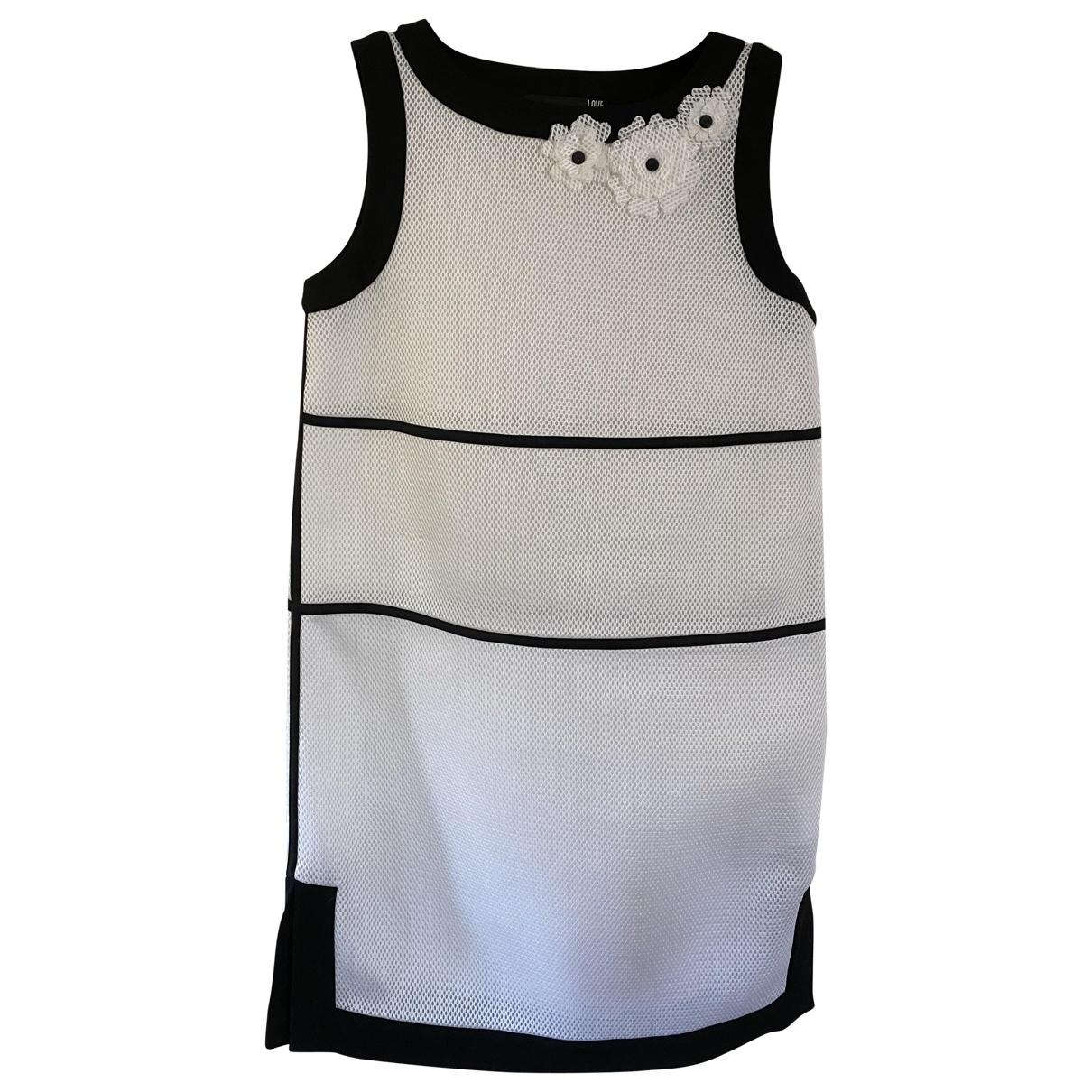 Moschino Love \N White dress for Women 40 IT