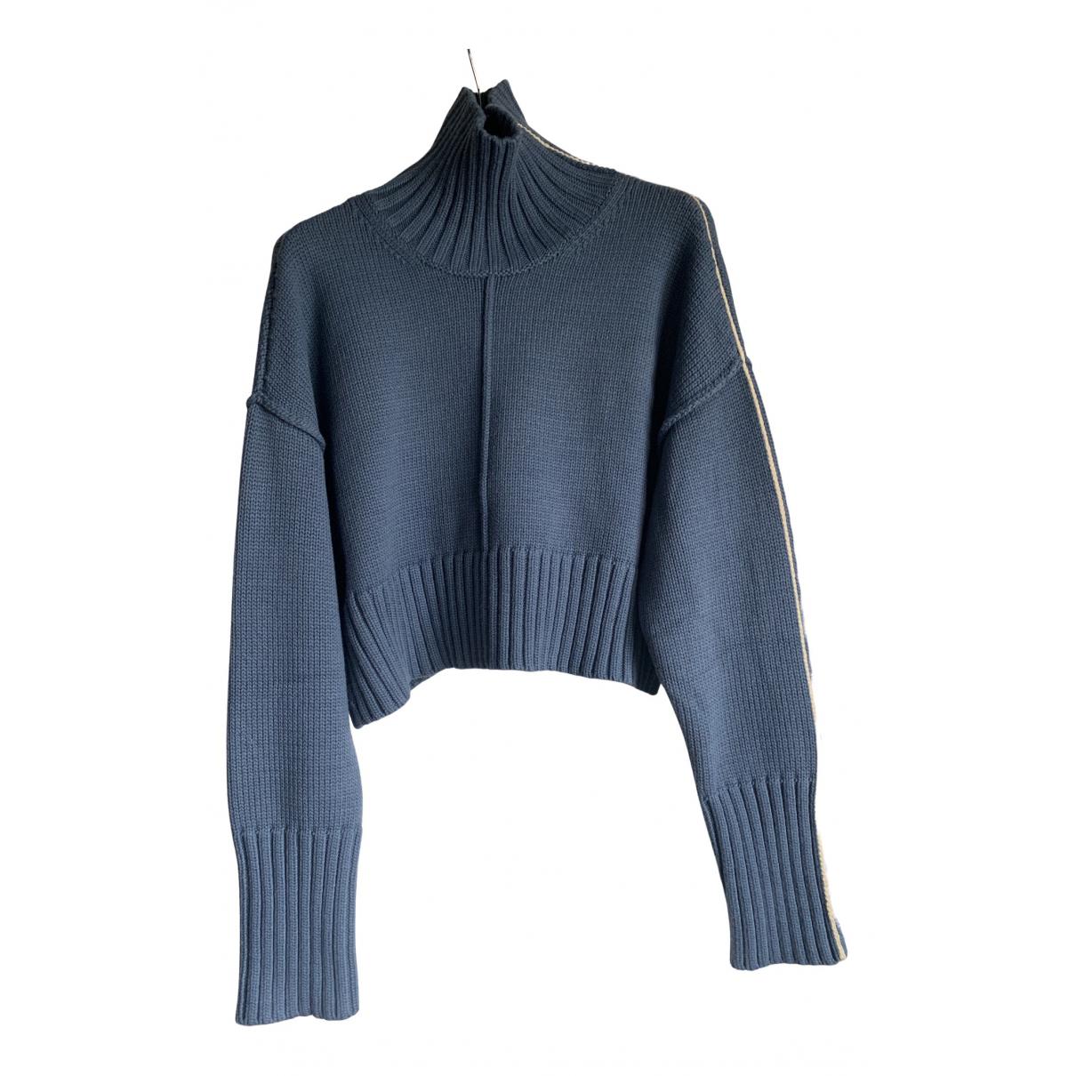 Peter Do N Blue Wool Knitwear for Women S International