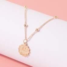 Aquarius Pendant Chain Necklace