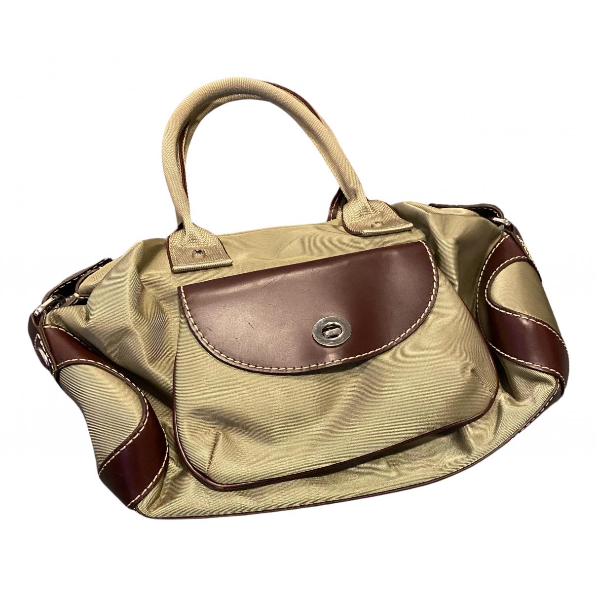 Lancel \N Handtasche in  Khaki Polyester