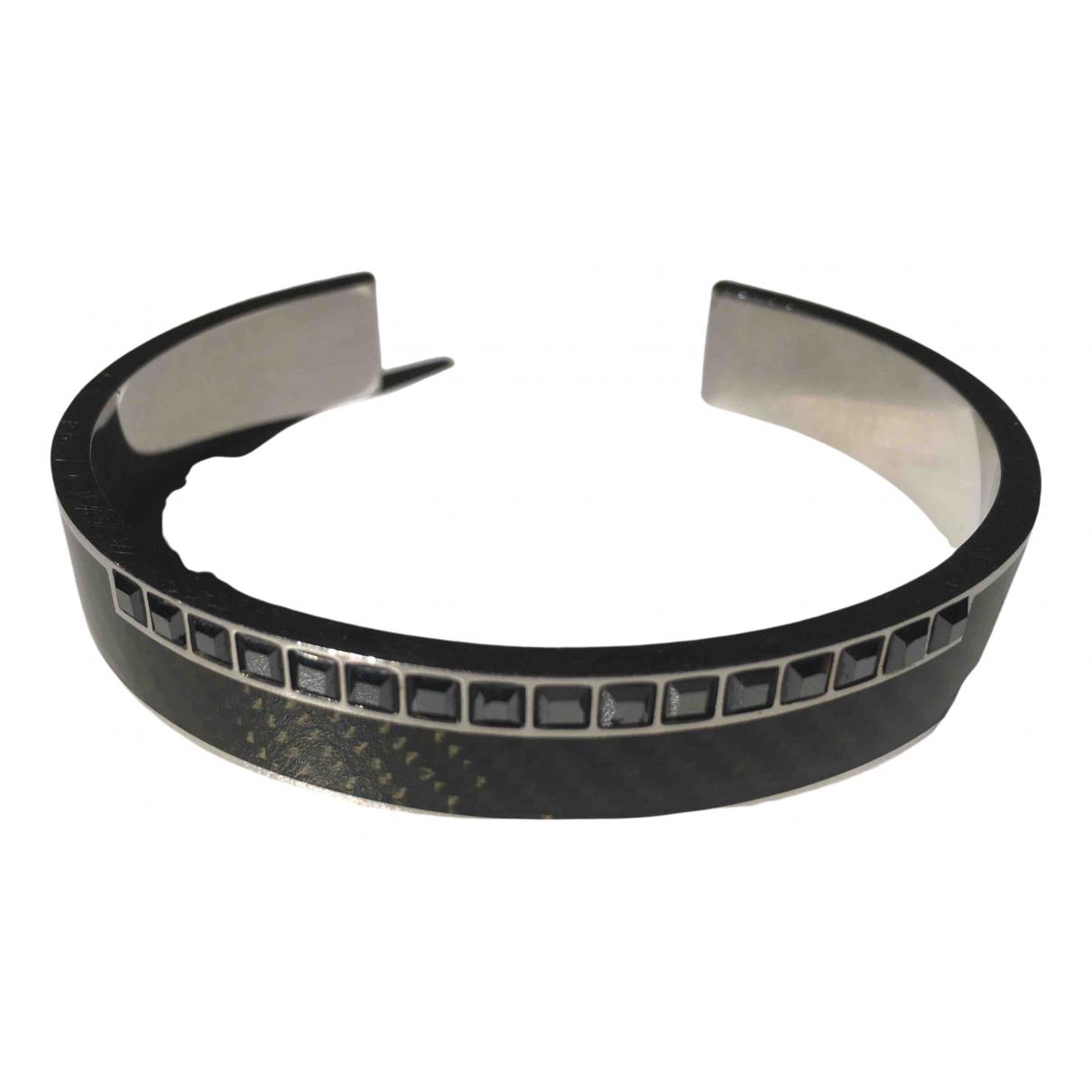 Swarovski - Bijoux   pour homme en acier - noir