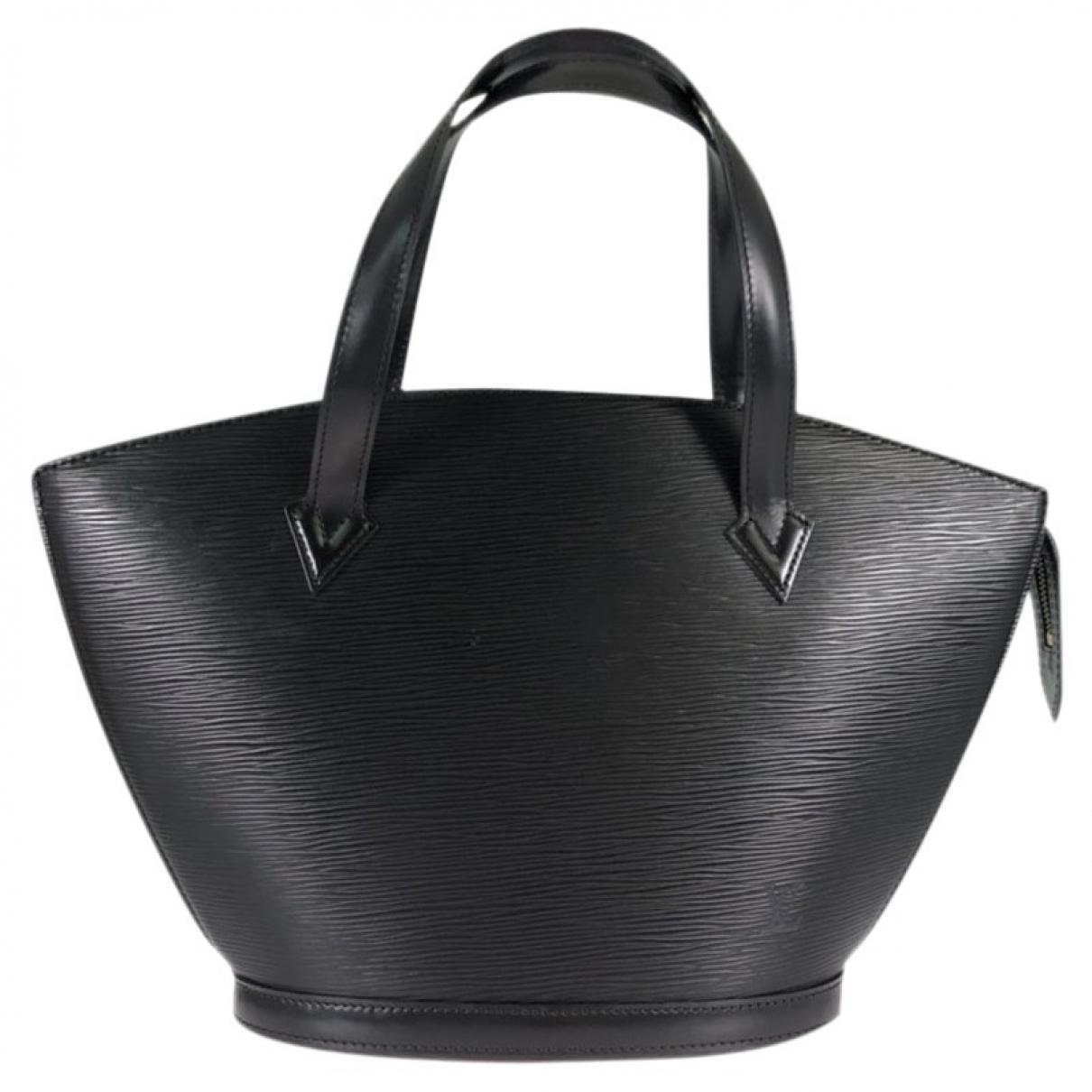 Louis Vuitton Saint Jacques Black Leather handbag for Women \N