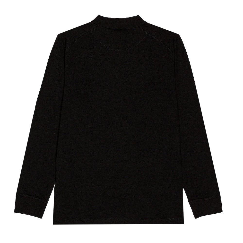 Y-3 Ls Polo Colour: BLACK, Size: MEDIUM
