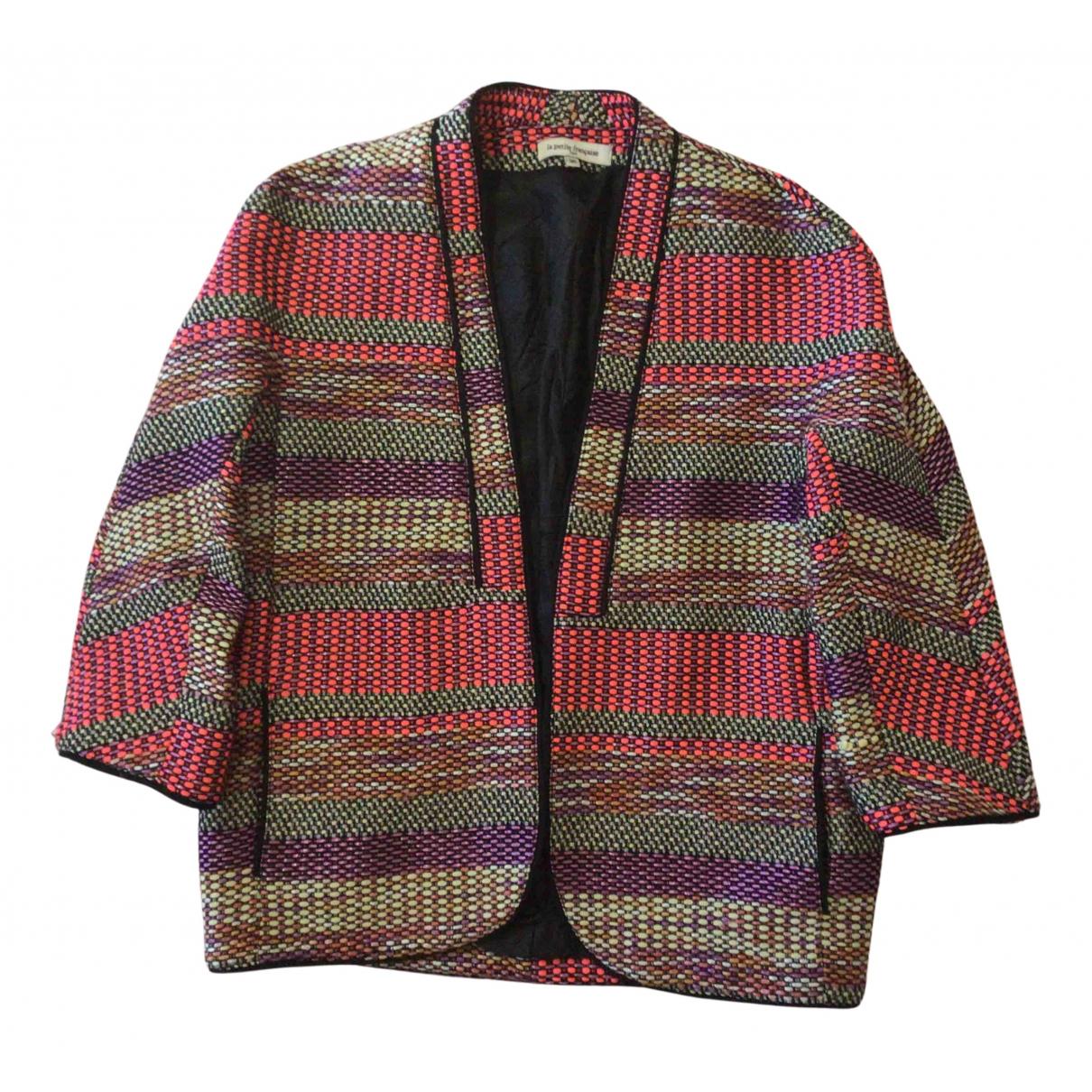 La Petite Francaise N Pink Cotton jacket for Women 36 FR