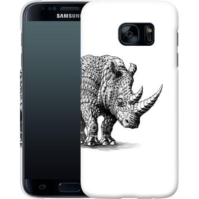 Samsung Galaxy S7 Smartphone Huelle - Rhinoceros von BIOWORKZ