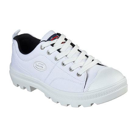 Skechers Roadies - True Roots Womens Sneakers, 9 Medium, White