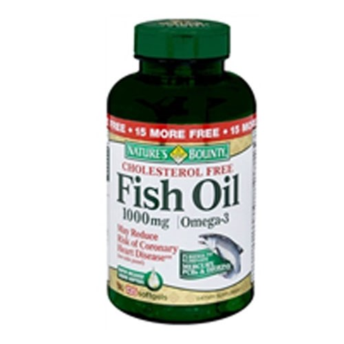 Nature's Bounty Fish Oil 24 X 145 Softgels by Nature's Bounty