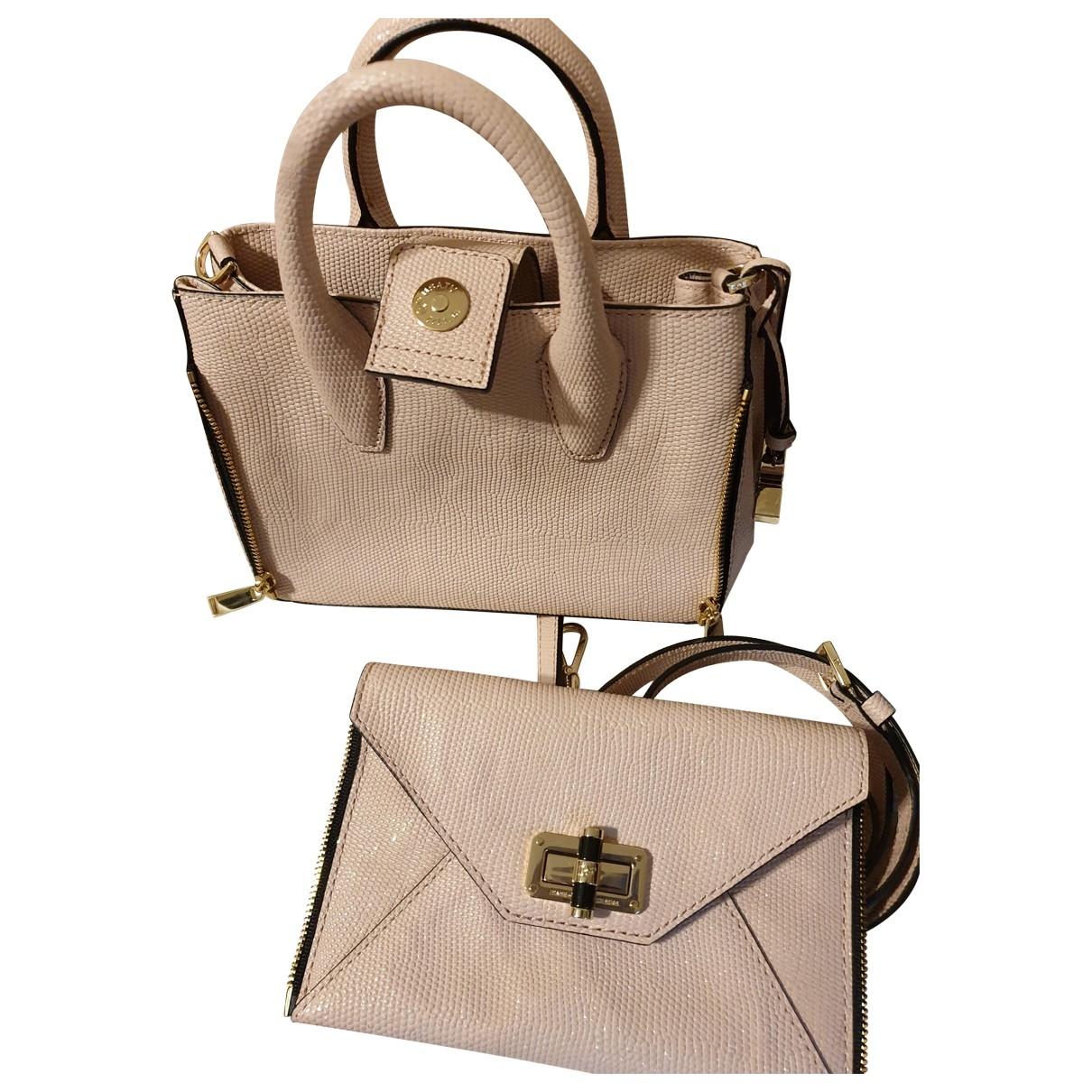 Diane Von Furstenberg \N Handtasche in  Rosa Leder