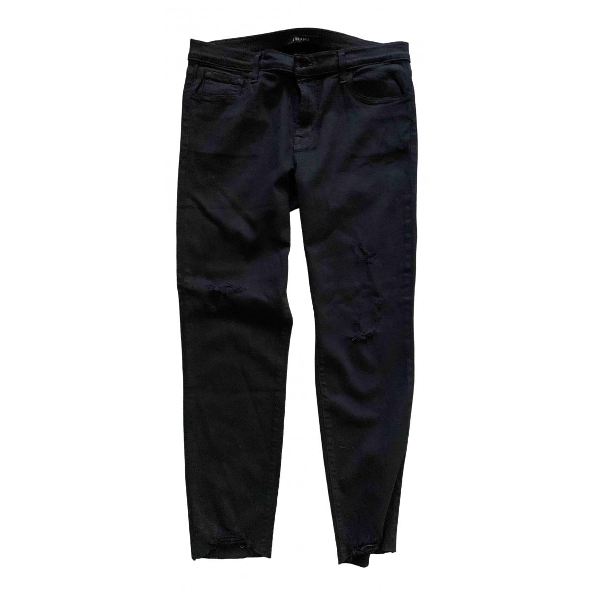 J Brand \N Black Cotton - elasthane Jeans for Women 31 US