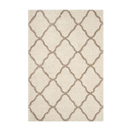 Safavieh Hudson Shag Collection Weldon Geometric Area Rug, One Size , Multiple Colors