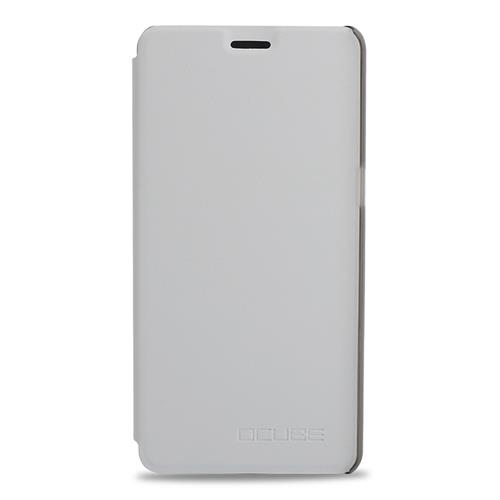 White Elephone P8 Leather Case Ultra-thin Shockproof Flip Cover Protective Phone Case