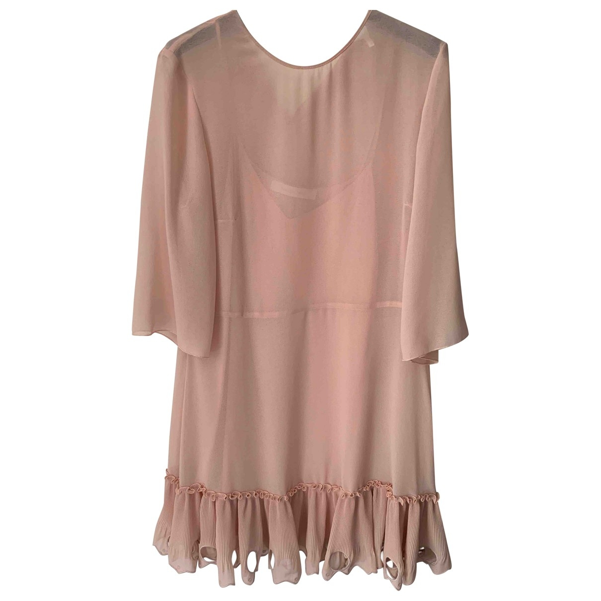 See By Chloé \N Pink Cotton dress for Women 36 FR