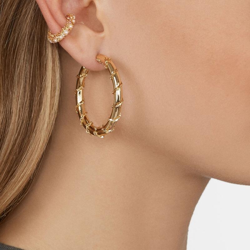 Ericdress European E-Plating Anniversary Earrings
