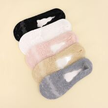 5pairs Lace Invisible Socks