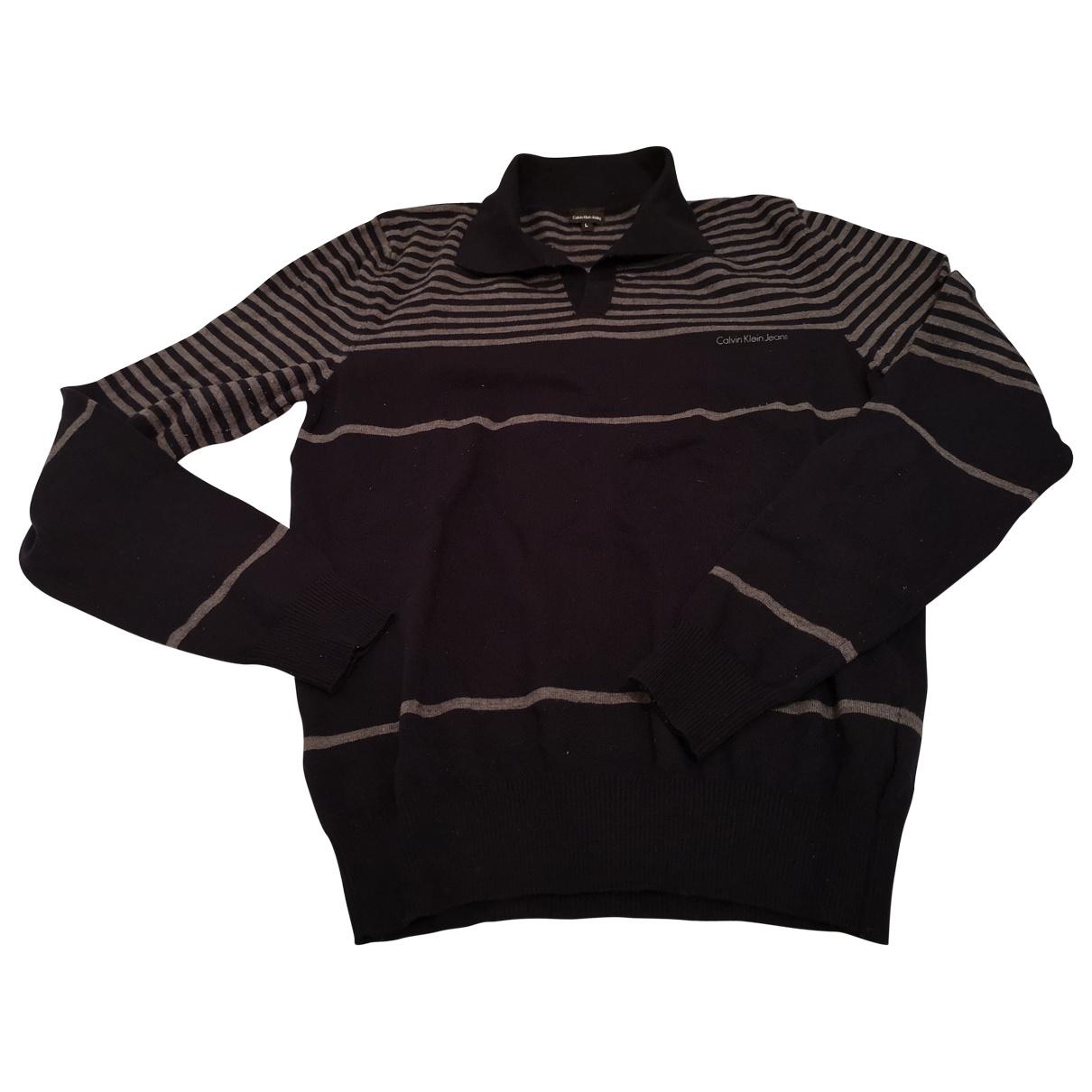 Calvin Klein \N Poloshirts in  Marine Baumwolle