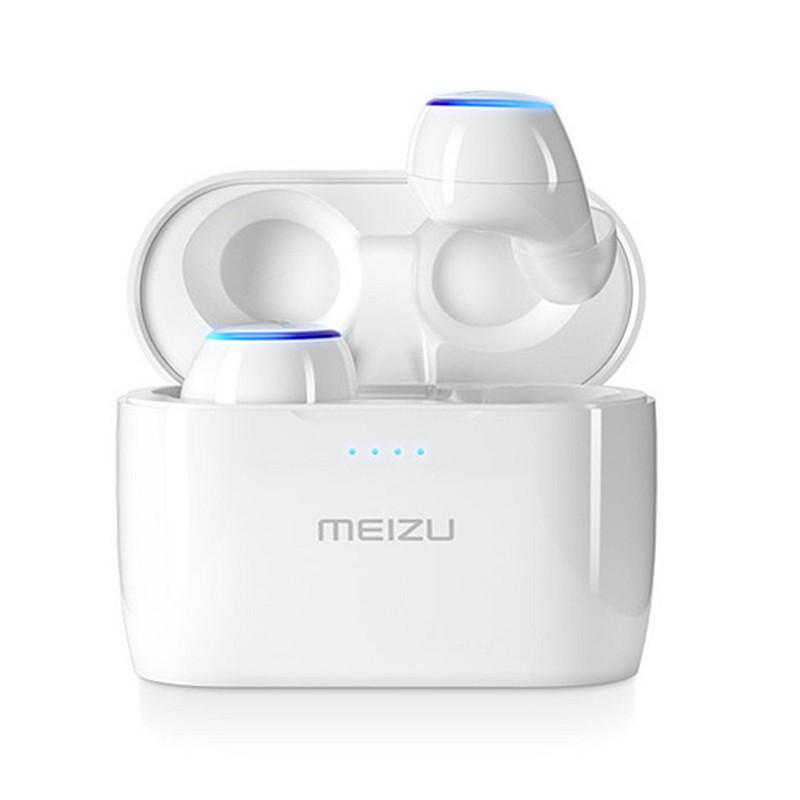 Original Meizu POP TW50 True Wireless Dual bluetooth Earphone Touch Stereo Waterproof Sports In-Ear Earbuds With Chargin