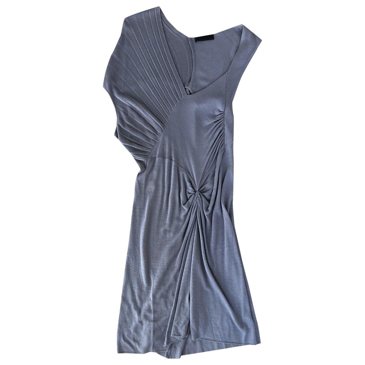 Costume National \N Kleid in  Grau Wolle
