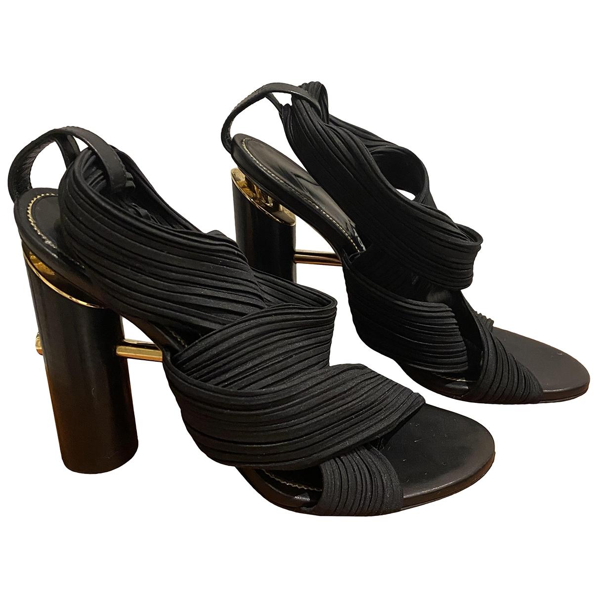 Tom Ford - Sandales   pour femme en toile - noir