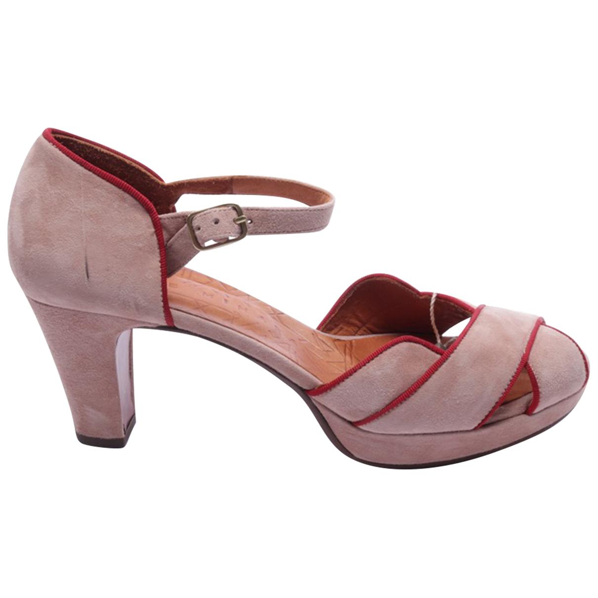 Chie Mihara \N Sandalen in  Beige Leder