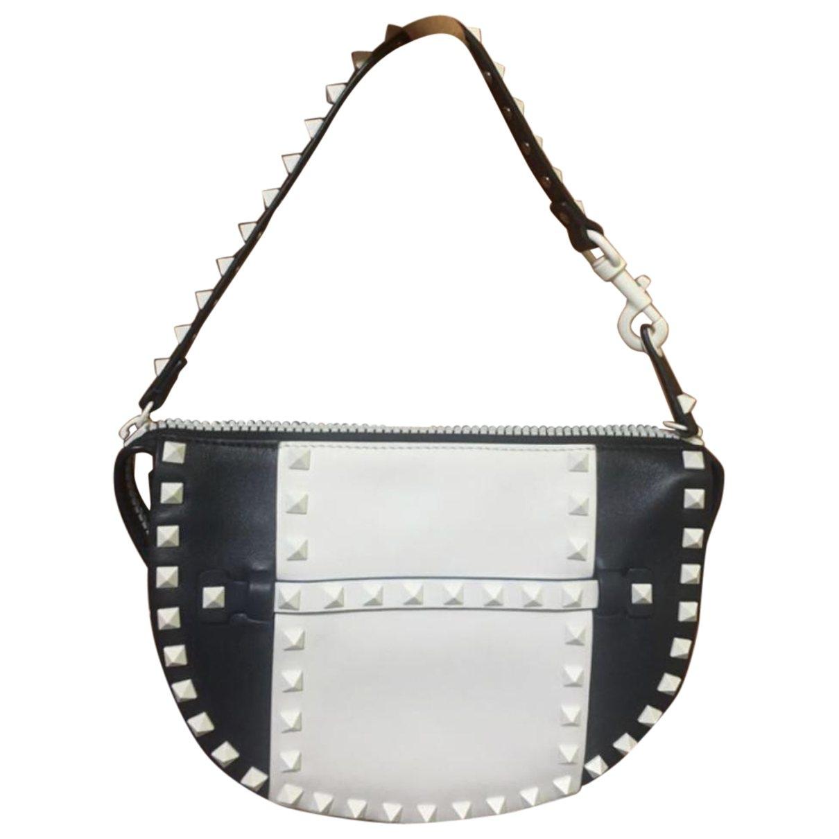 Valentino Garavani Rockstud Handtasche in  Bunt Leder