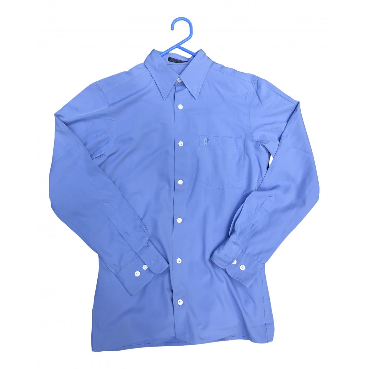 Dkny - Chemises   pour homme en autre - bleu