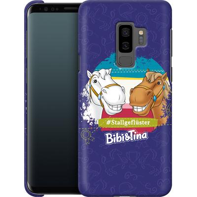 Samsung Galaxy S9 Plus Smartphone Huelle - Bibi und Tina Stallgefluester von Bibi & Tina