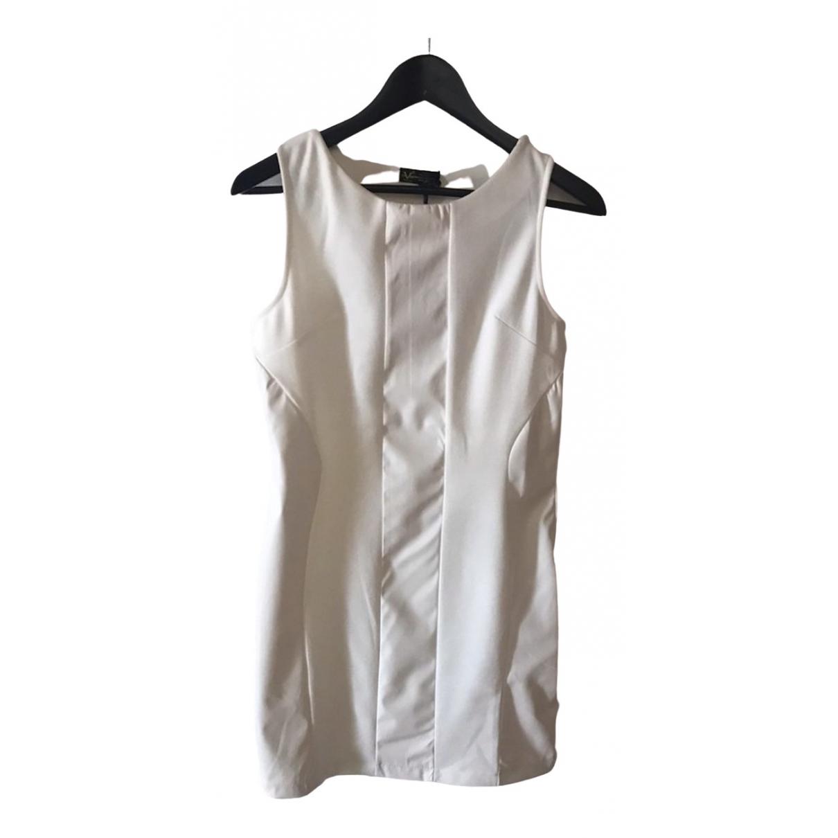 Versace \N Kleid in  Ecru Polyester