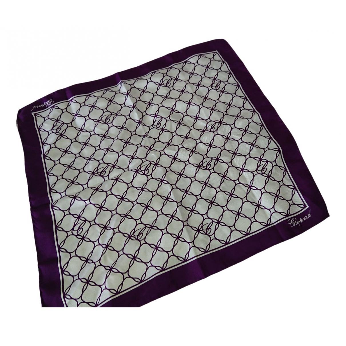 Chopard \N Purple Silk Silk handkerchief for Women \N