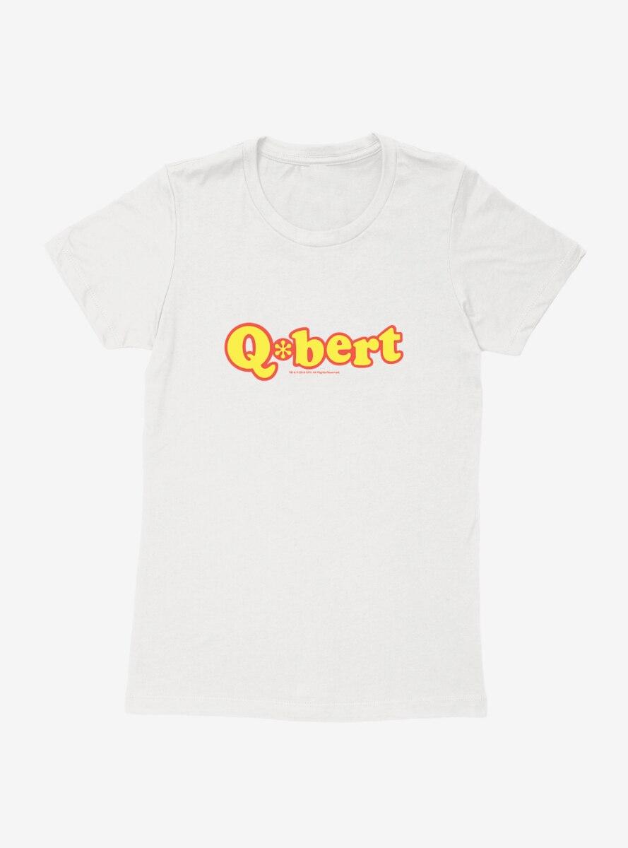 Qbert Name Logo Womens T-Shirt