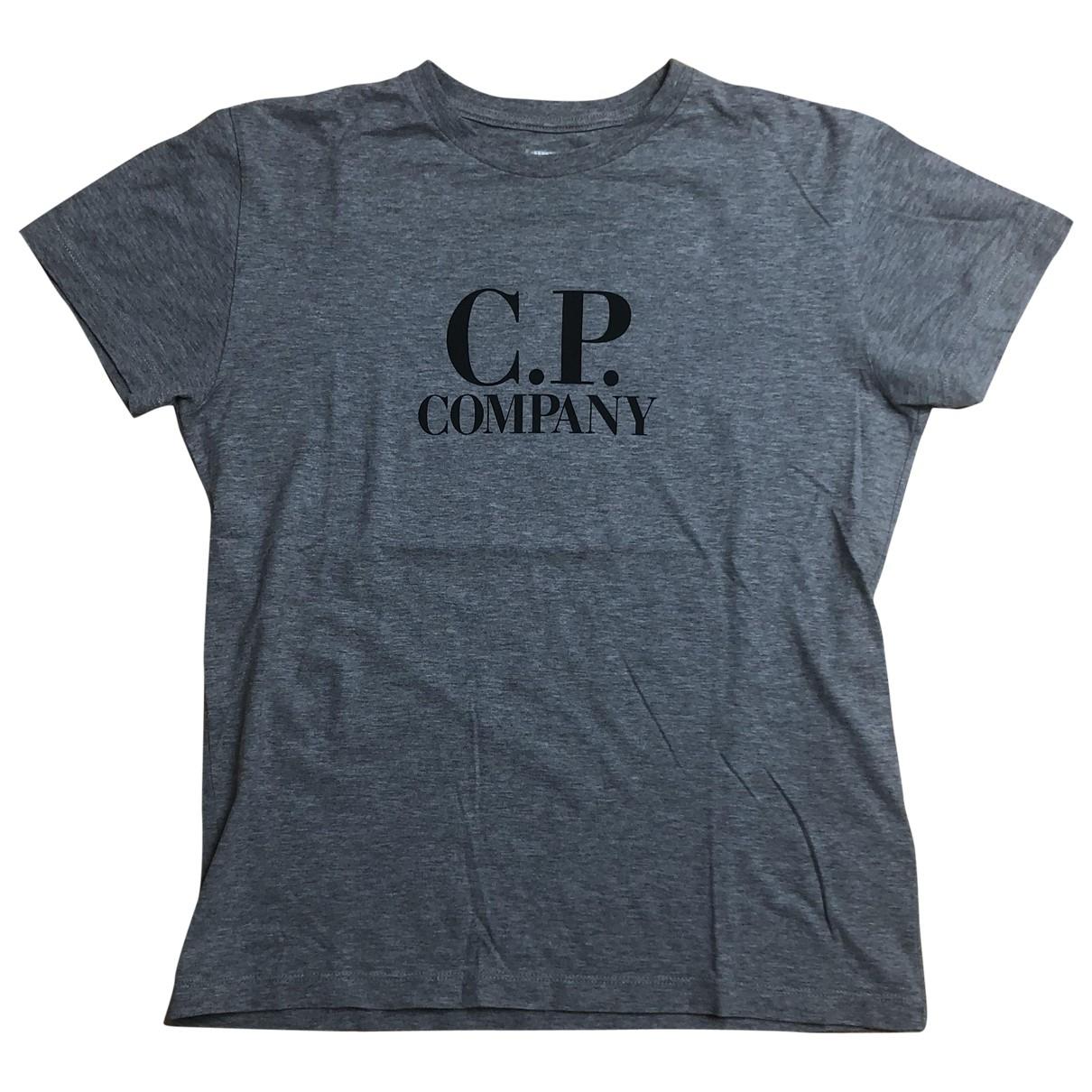 Cp Company - Top   pour enfant en coton - gris