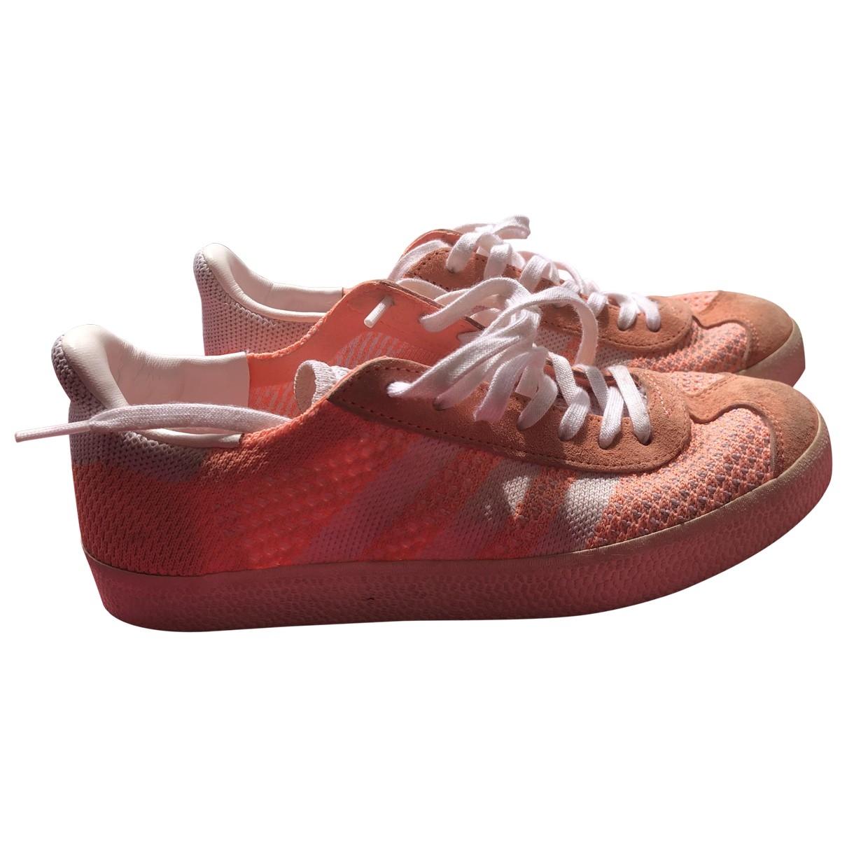 Adidas - Baskets Gazelle pour femme en toile - orange