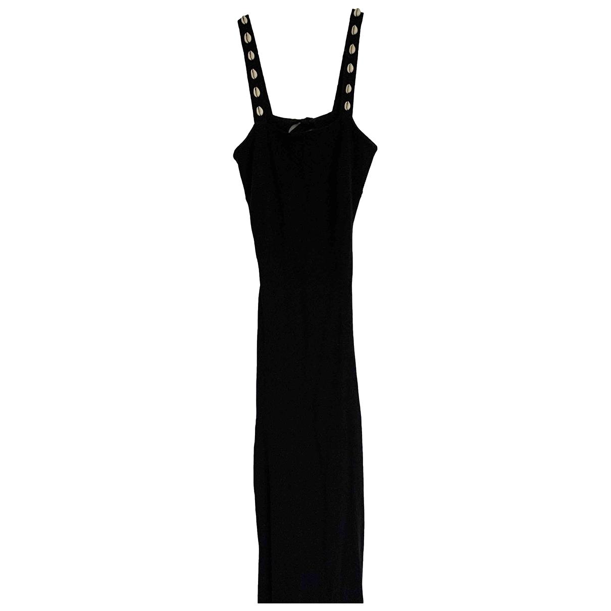 Staud - Robe   pour femme en coton - noir