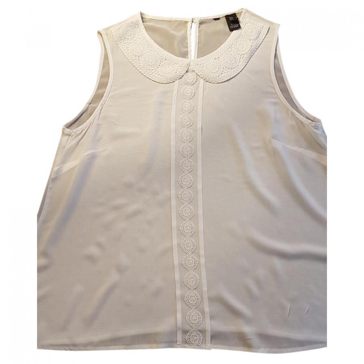 Camiseta sin mangas Zara