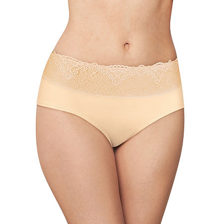 Bali Passion For Comfort Microfiber Hipster Panty Dfpc63, 7 , Beige