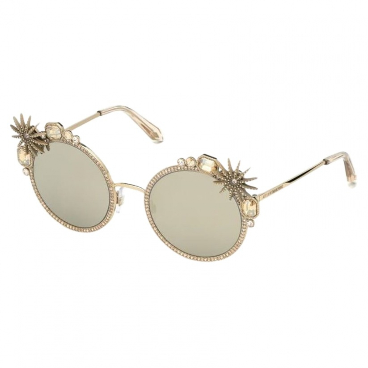 Swarovski \N Gold Sunglasses for Women \N