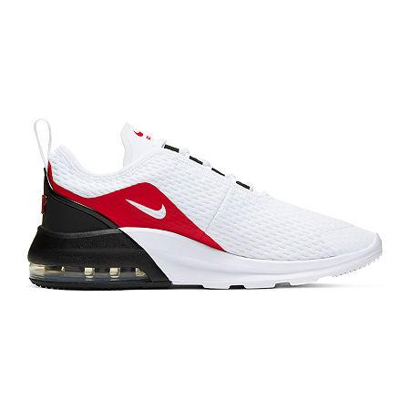 Nike Air Max Motion 2 Little Kid/Big Kid Boys Running Shoes, 6 Medium, White