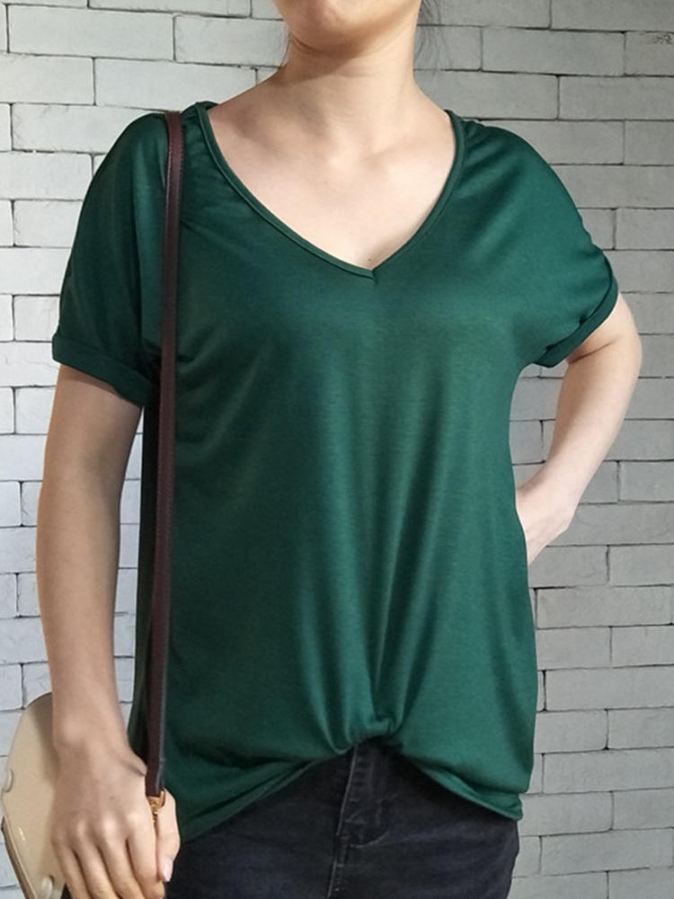 Solid Color Kink T-shirts